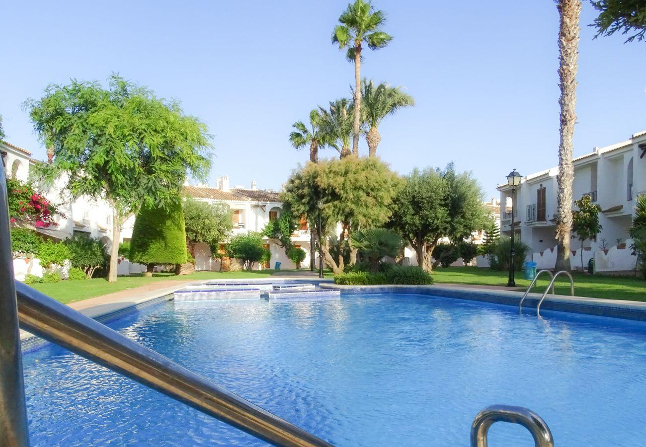 Apartamento en La Manga del Mar Menor - Apartamento  2/3 Aldeas Taray Club Star Pool